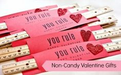 Valentine - You rule! Great for non-candy option!