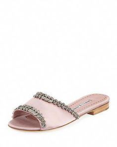 Zielsetzung Womens Ladies Studded Slider Flat Summer Sandals Cage Slides Bling Diamante Shoe Kleidung & Accessoires