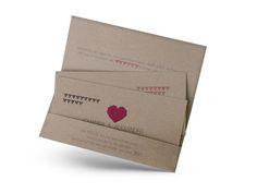 Hochzeitseinladungen im Ticket-Stil – Ein Hoch auf uns! Container, Ticket, Form, Invites Wedding, Card Wedding, Tips, Kraft Paper, Ideas