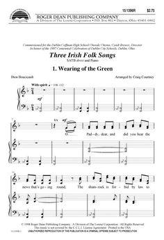 Three Irish Folk Songs
