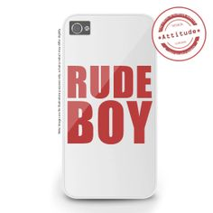 iPhone 4/4S iPhone 5/5S/5C Rude Boy iPhone Case by AttitudeCases, £10.99