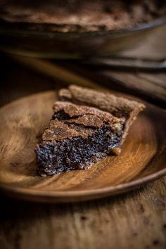 Chocolate Chess Pie // tastes like brownie batter