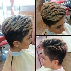 Trendy Short Layered Hairstyle