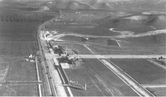 Ventura Boulevard in San Fernando Valley in 1923.