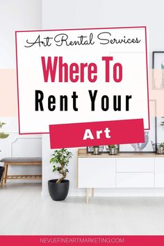 The art rental scene is becoming more popular for businesses and collectors. How to find local companies that lease art, companies that rent art, how to get started leasing art. Business Articles, Business Tips, Small Business Entrepreneurship, Business Planner, Selling Art Online, Popular Art, Art Market, Prints For Sale, Art Blog