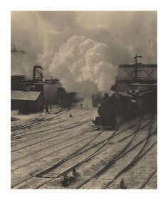 In the New York Central Yards, 1903 — Alfred Stieglitz