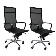 Modern office office  chair - Pin it :-) Follow us :-)) AzOfficechairs.com is your Officechair Gallery ;) CLICK IMAGE TWICE for Pricing and Info :) SEE A LARGER SELECTION of  modern office chair at http://azofficechairs.com/category/office-chair-categories/modern-office-chair/ - office, office chair, home office chair -  Goplus 2pcs Modern Mesh Ergonomic Office Hydraulic Chair Computer Desk Conference Chair « AZofficechairs.com