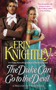Lady Celeste Reads Romance with friends: Review | The Duke Can Go To The Devil by Erin Knightley