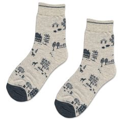 Oatmeal Farm Socks