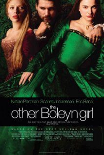 """""""The Other Boleyn Girl""""..Phillipa Gregory writes some great historical romantic fiction..  They are just historically interesting enough that I end up reading history books and biographies of Tudor times afterwards."""