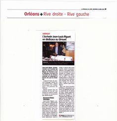 Article paru dans La République du Centre d'aujourd'hui Sur le lancement du livre RéCITS HISTORIQUES DE L'ORLéANAIS Val de Loire, Beauce, Sologne . . . . La traduction de l'…