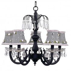 Jubilee Collection Ceiling Lights  Chandelier with Optional Shade - 7047