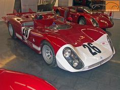 1970 Alfa Romeo Tipo 33-3 Le Mans
