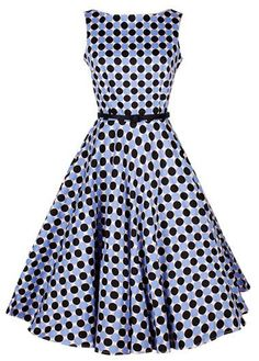 Dot Print Sleeveless A Line Dress on sale only US$25.43 now, buy cheap Dot Print Sleeveless A Line Dress at lulugal.com