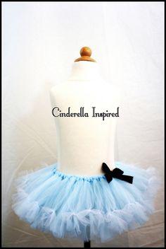 Cinderella Inspired Tutu by TreasuredTutu on Etsy, $35.00