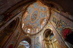 The Carmelite Church in Mdina in Malta