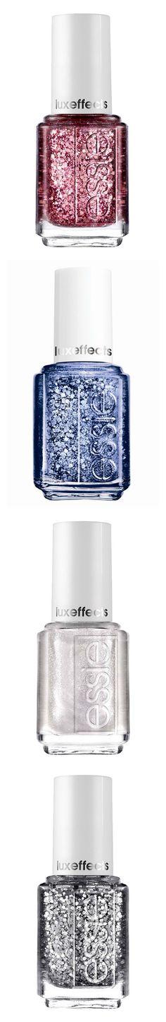 Glitter nail polish is always a good idea | Essie.