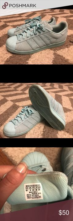 on sale 8e4d6 95ca2 Men s Adidas Superstar Adicolor Barely worn size 10 1 2 men s ( fit size 11
