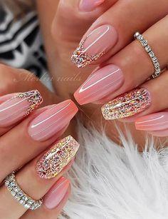 Top 100 acrylic nail designs from May Website nail designs # Top 100 Acrylic Nail Designs of May Web Page Long White Acrylic Nails Design. Top 100 Acrylic Nail Designs of May Web Page Long White Acrylic Nails Design., Nails & Pedicure Hello, ladies who … French Nail Designs, New Nail Designs, Acrylic Nail Designs, Blog Designs, Cute Summer Nail Designs, Nail Designs Spring, Cute Acrylic Nails, Cute Nails, Pretty Nails