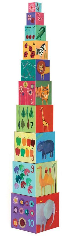 French designed stacking blocks for toddlers were $34.50 now $19.50 while stocks last #sale #kidstoys #gifts