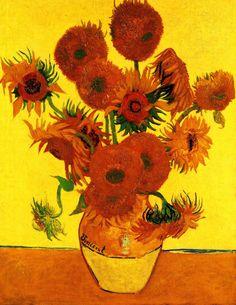 빈센트 반고흐(Vincent Van Gogh) 의 인생과 이상 그리고 도전 :: 해바라기 (1888)
