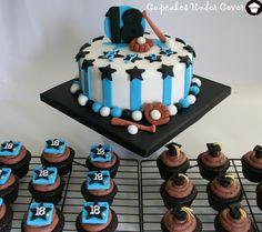 baseball cake design