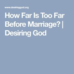 Desiring god dating and singleness