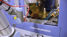 Universal robots help automate the Aerospace industry at Whippany Actuat...
