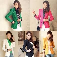 Take a look at these cute colourful stylish blazers I just purchased one and it's so... cute!