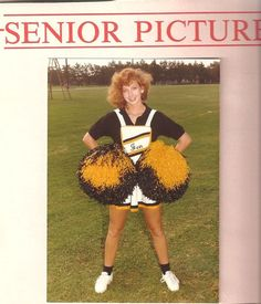So old school. look how big the #poms are! #cheerleader #cheer #cheerleading