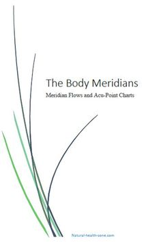 The Stomach Meridian - Sea of Nourishment Meridian - we experience Contentment and Calmness when this meridian is balanced...