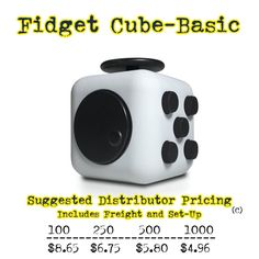 Fidget Cubes and Fidget Hand Spinners are hot at retail and hot a promotional product marketing. #fidgetcube #handspinner #torqbar #fidget