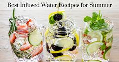 Help a senior loved one stay hydrated by making these infused water recipes for summer together. Read on for five easy and nutritious recipes.