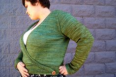 Delaney wrap cardigan, Dawn Catanzaro