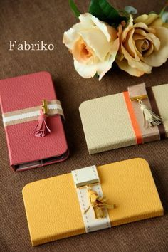 iPhone ケースいろいろ : Fabrikoのカルトナージュ ~神戸のアトリエ~