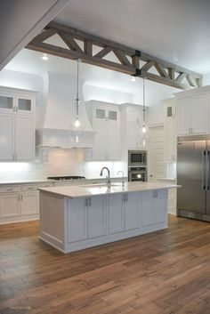Kitchen Cabinet Design - CLICK THE PICTURE for Many Kitchen Ideas. #cabinets #kitchendesign