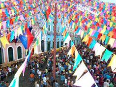 O colorido das festas de São João na Bahia