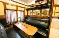 Brimming with charm, the carriage and caboose retain their original furnishings and signage, includi... - Real Estate Australia