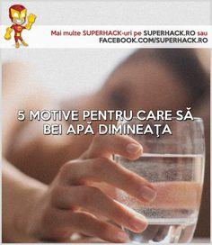 Cum ajută apa dimineaţa, o terapie cu apă pentru diferite afecţiuni şi 5 motive pentru care să bei un pahar de apă dimineaţa! Lifehack-uri în limba română!