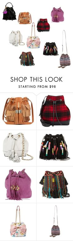 """""""Bucket baga"""" by cray-cray-cupcake on Polyvore featuring See by Chloé, Barneys New York, Rebecca Minkoff, STELLA McCARTNEY, Argento Antico, Antik Batik, Betsey Johnson, BCBGMAXAZRIA and Forte Couture"""