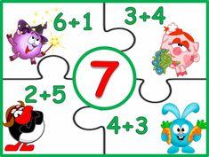Kindergarten Math Worksheets, Teaching Math, Math Games, Preschool Activities, Study Board, Math School, Math For Kids, Busy Book, Creative Kids