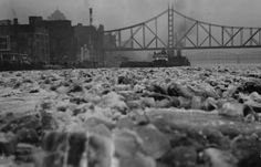 March 8, 1936:  Ice Jams on the Mon: The winter of 1936 dropped more than 63 inches of snow on Pittsburgh.