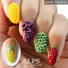 Fruit Nails by Alpsnailart by alpsnailart from Nail Art Gallery