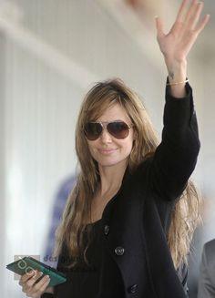 dadaa687d30a2 Angelina Jolie and Marc Jacobs MJ 259 Sunglasses Marc Jacobs Sunglasses,  Brad Pitt And Angelina