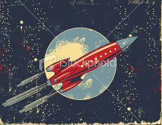 stock-illustration-8508307-retro-rocket-cartoon-in-outer-space.jpg (380×294)