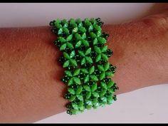 Cuff bracelet ~ Seed Bead Tutorials