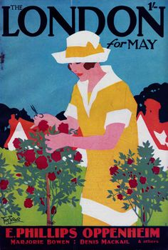 London Cover, May 1928 - Tom Purvis