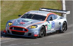 Gigawave Motorsport Aston Martin DBR9 GT1 Le Mans Series Silverstone 2009
