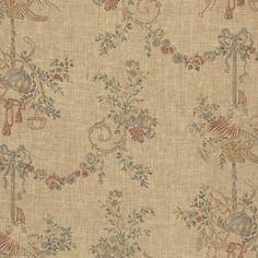 Thornbridge Hunt Floral - Russet - #Florals - #Fabric - Products - Ralph Lauren Home - RalphLaurenHome.com #TelaFloral