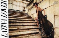 Latin Lover | Alison Nix | Rennio Maifredi #photography | Marie Claire Italia April 2012...love the dress!
